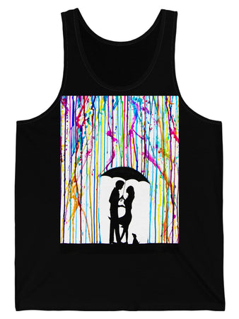 Tank Top - Two-Step Graphic Tank Top