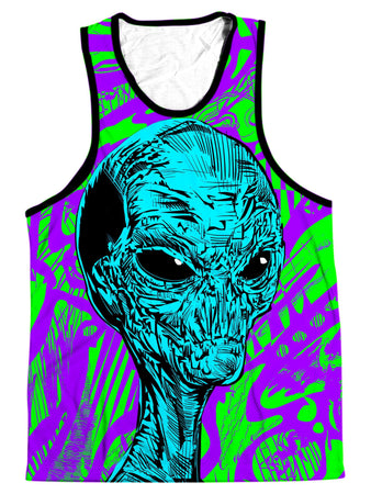 Technodrome - Alien Men's Tank