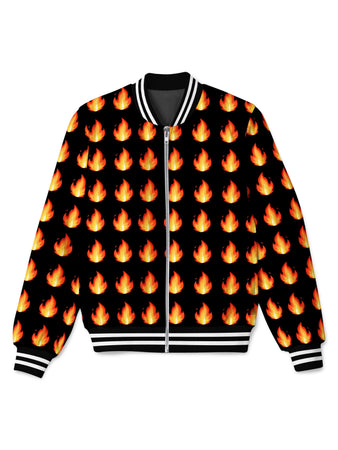 Technodrome - Burn Bomber Jacket