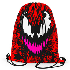 Technodrome Carnage Drawstring Bag