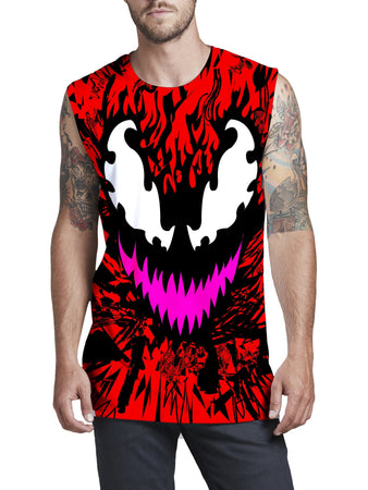 Technodrome - Carnage Men's Muscle Tank