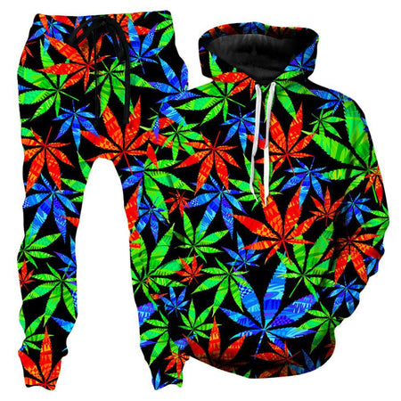 Technodrome - Weed Hoodie and Joggers Combo