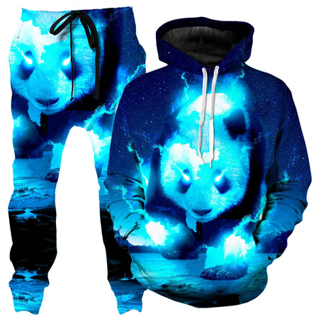 Think Lumi - Cosmic Panda Hoodie and Joggers Combo