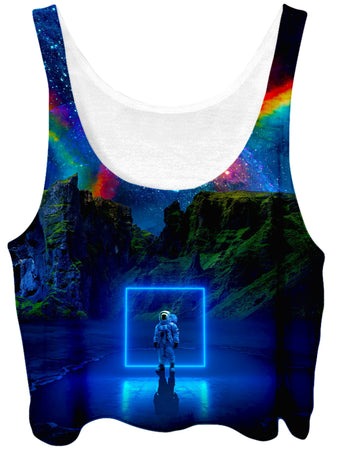 Think Lumi - Cosmic Toybox Crop Top