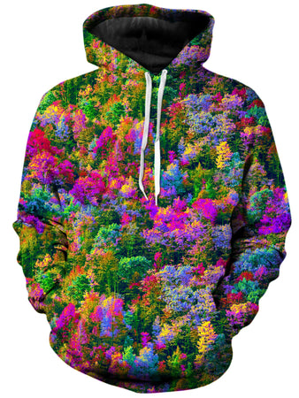 Think Lumi - Psychedelic Forest Unisex Hoodie