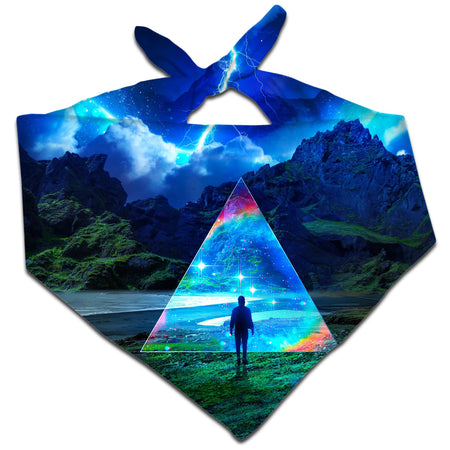 Think Lumi - Rainbow Triangle Bandana