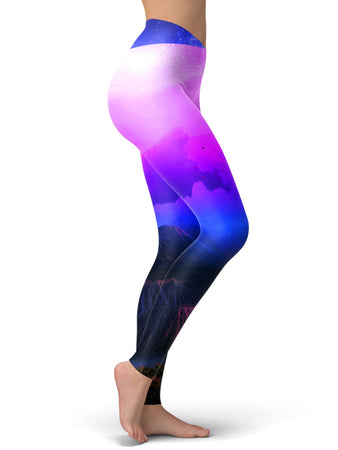 Think Lumi - Vaporwoven Leggings