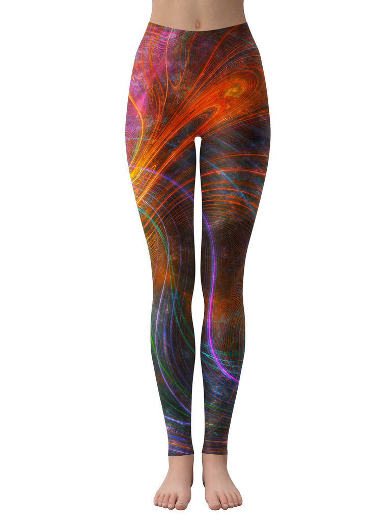 Yantrart Design Fraclalized Leggings