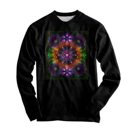 Yantrart Design - Geometric Vibes Graphic Long Sleeve