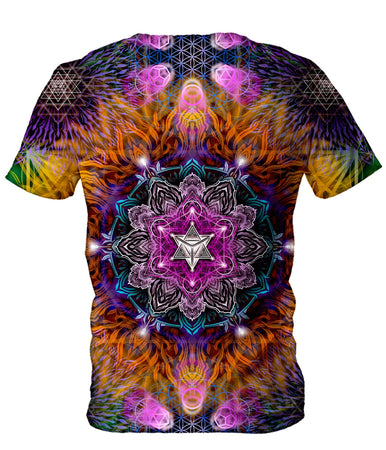 Yantrart Design - Geometric Vibes Men's T-Shirt