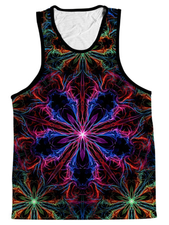 Yantrart Design - Man Trip Men's Tank