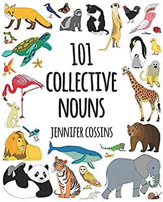 101 Collective Nouns of animals book for children