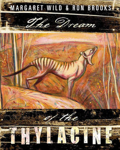 Illustrated children's  story book on the Thylacine.