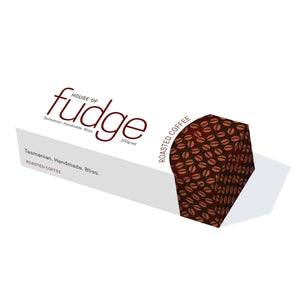 Boxed coffee fudge.