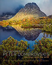 Photograph of Cradle Mountain in Autumn.