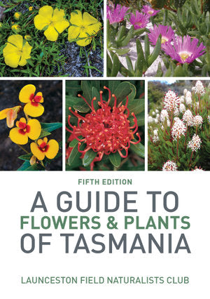 Photographic images of flowers of Tasmania