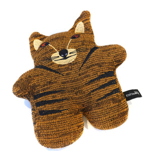 Thylacine in knitted fabric with embroidered details.