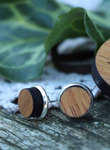 Load image into Gallery viewer, Tassie Dazzle – Huon pine earrings
