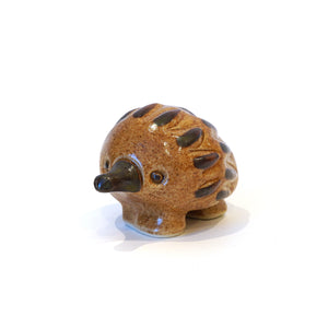 Very cute stylised ceramic echidna collectible ornament.