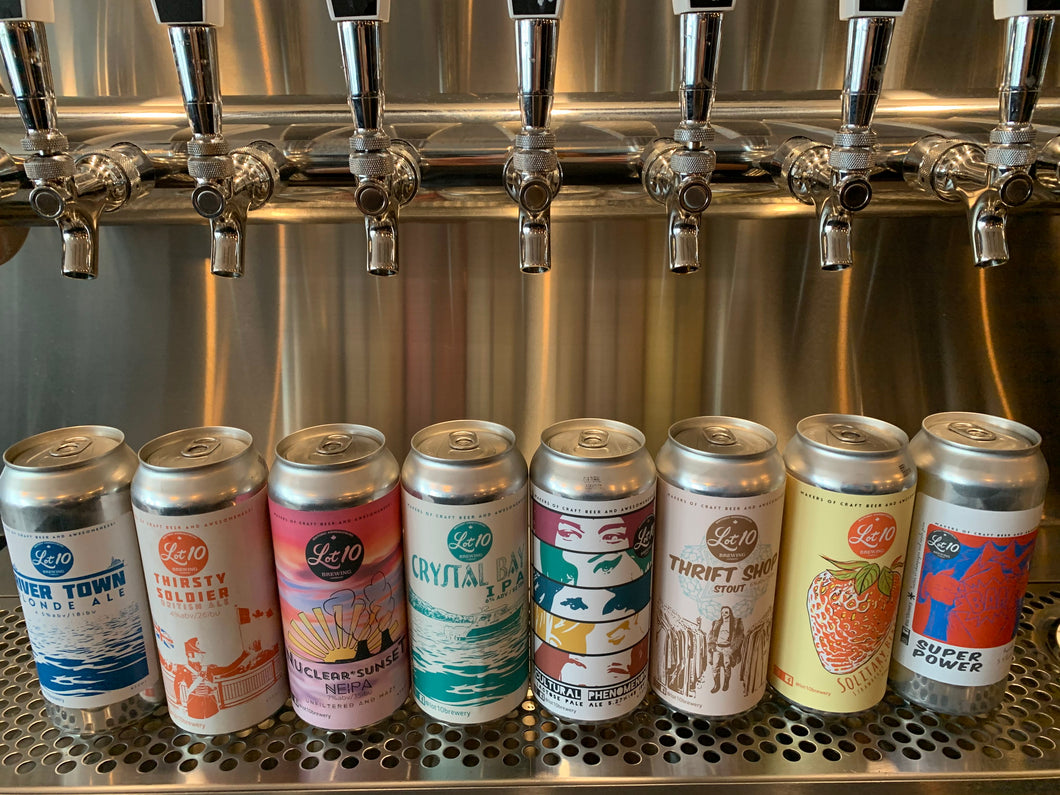 6 Mix - 6 x Cans 473 ml each - Various flavours
