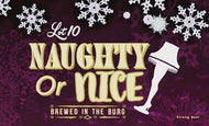 Naughty or Nice Fig Spice Porter -  ON SALE!