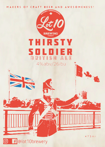Thirsty Soldier - British Ale