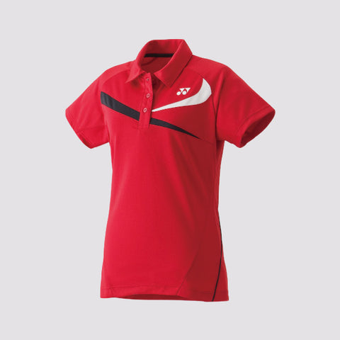 YONEX - 20240EX Women's Performance Polo Crystal Red