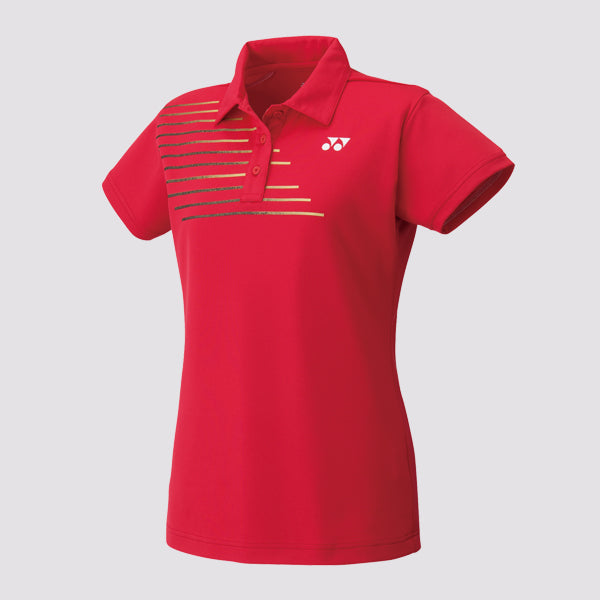 YONEX - 20302EX Women's Performance Shirt Crystal Red