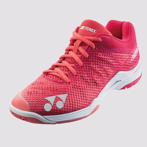 Yonex POWER CUSHION SHB AERUS 3 LADIES Badminton Shoes Rose