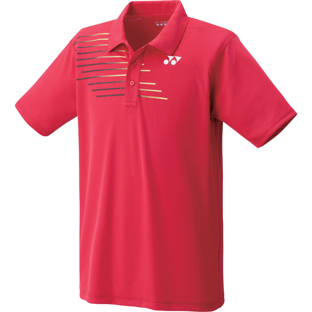 Yonex - 12133JEX Junior Polo Shirt Crystal Red