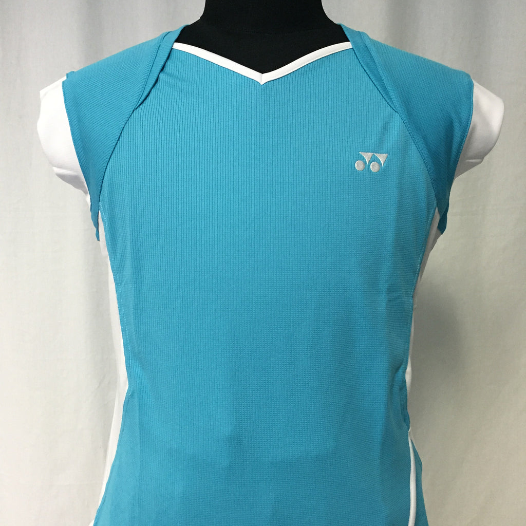 Yonex Women's Badminton Performance Shirt 20108B River Blue