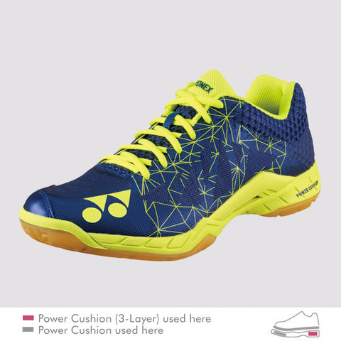 Yonex POWER CUSHION SHB AERUS 2 MENS Badminton Shoes Navy
