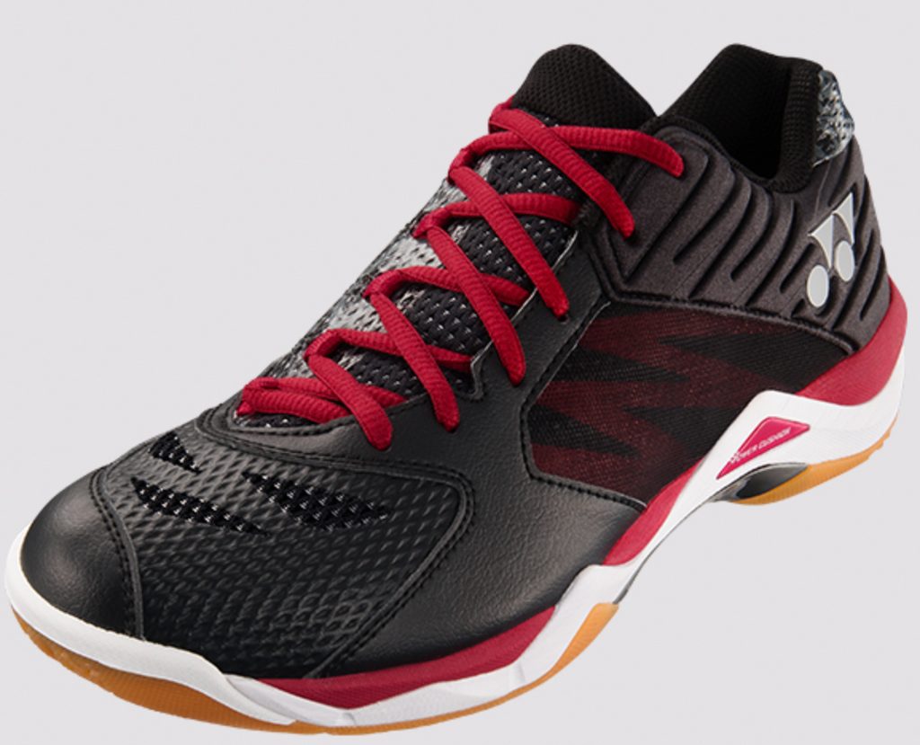 Yonex Power Cushion SHB-Comfort Z Men's Badminton Shoes Black/Red