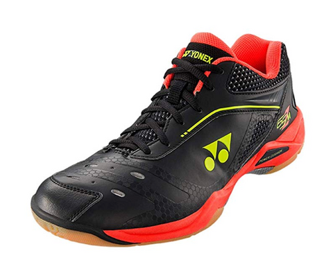 Yonex Power Cushion 65Z Men's Badminton Shoes Black/Red