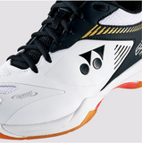 Yonex Power Cushion 65X2 Wide Badminton Shoes White/Black