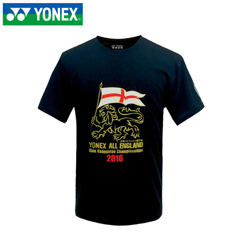 YONEX - YOB16010EX Men's Performance All England 2016 shirt Black