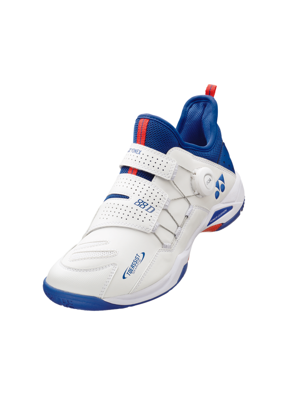 Yonex Power Cushion 88 Dial Badminton Shoe Unisex White/Blue