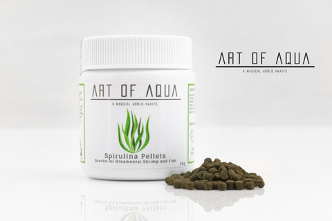 Art of Aqua - Spirulina Pellets (25g)