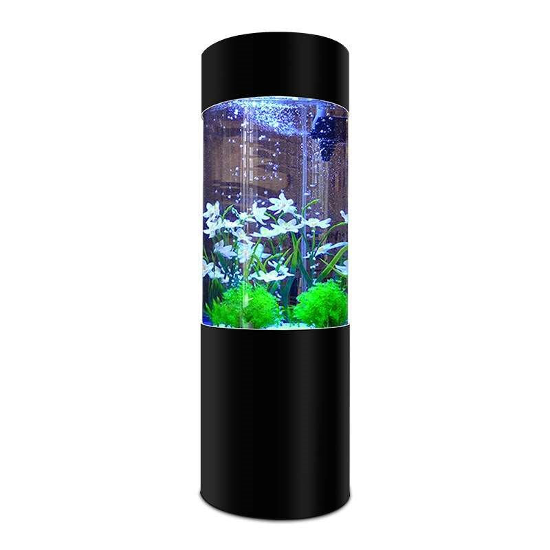 Cylindrical Aquariums