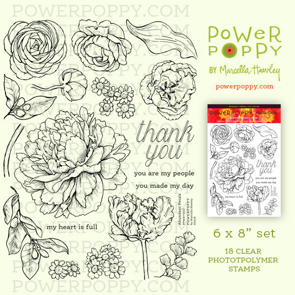 Products - Power Poppy by Marcella Hawley