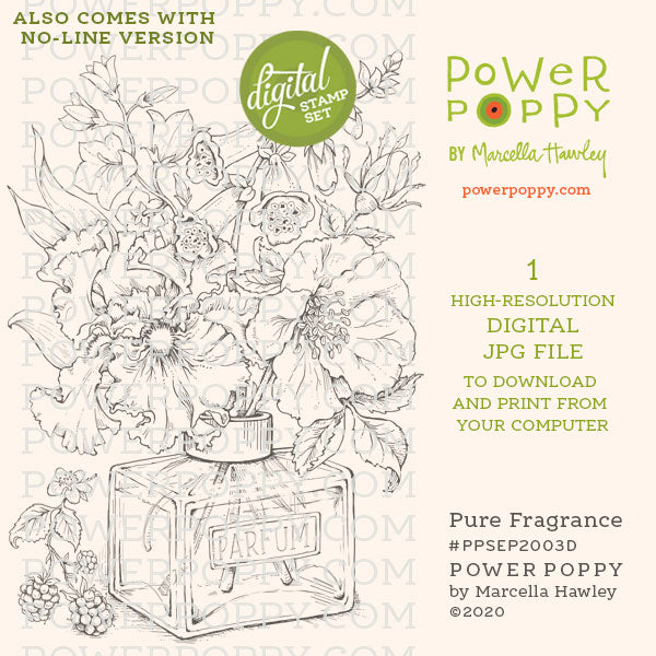 Power Poppy Pure Fragrance digi
