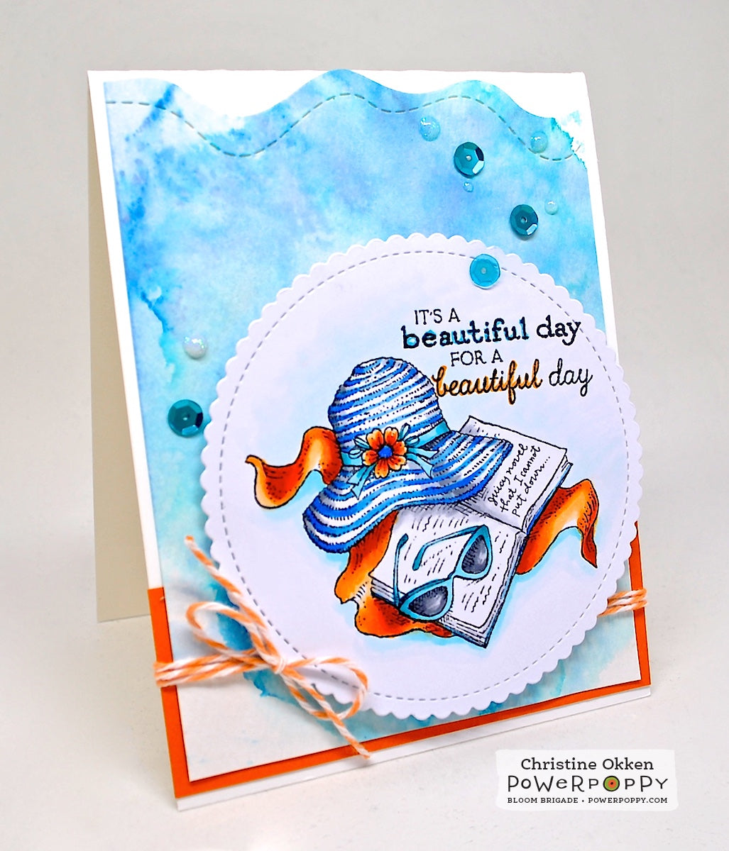 Cultivate love power poppy by marcella hawley best day ever stamp set kristyandbryce Choice Image