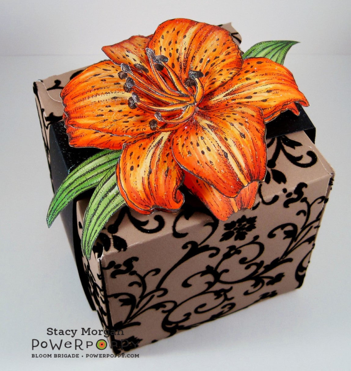 Peony muse coordinating dies power poppy by marcella hawley tiger lily xl stamp set izmirmasajfo