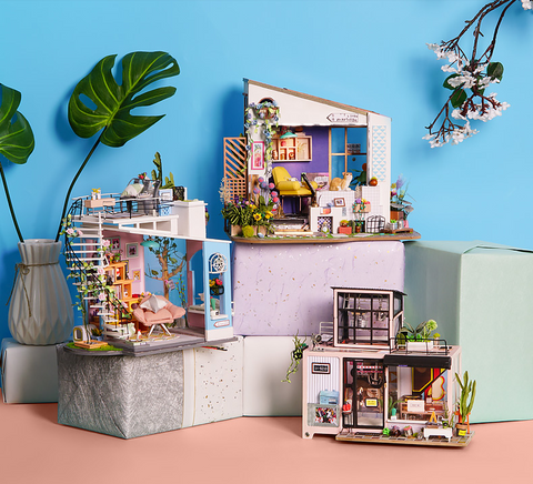 DIY doll house kits for adults