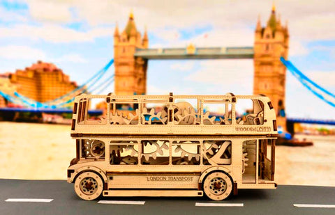 london bus building kit