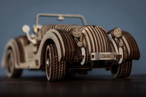 Roadster - build your own moving model by UGears