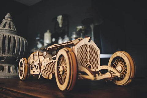 U-9 Grand Prix Car - build your own moving model by UGears