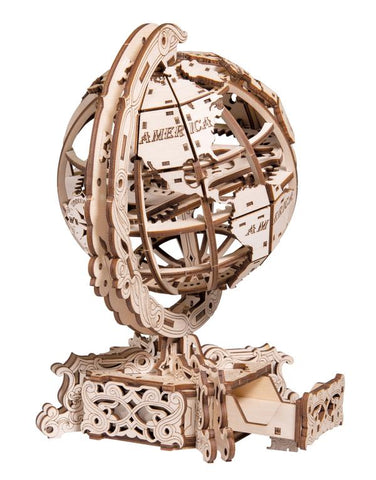 The Globe - mechanical model by Wooden City
