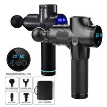 Load image into Gallery viewer, LCD Display Body Massage Gun