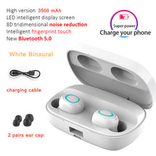Load image into Gallery viewer, 3500mAh LED Bluetooth Wireless Earphones | Waterproof Earbuds